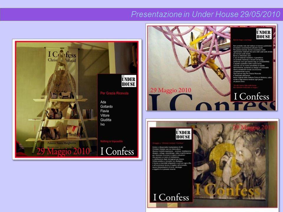 Presentazione in Under House 29/05/2010