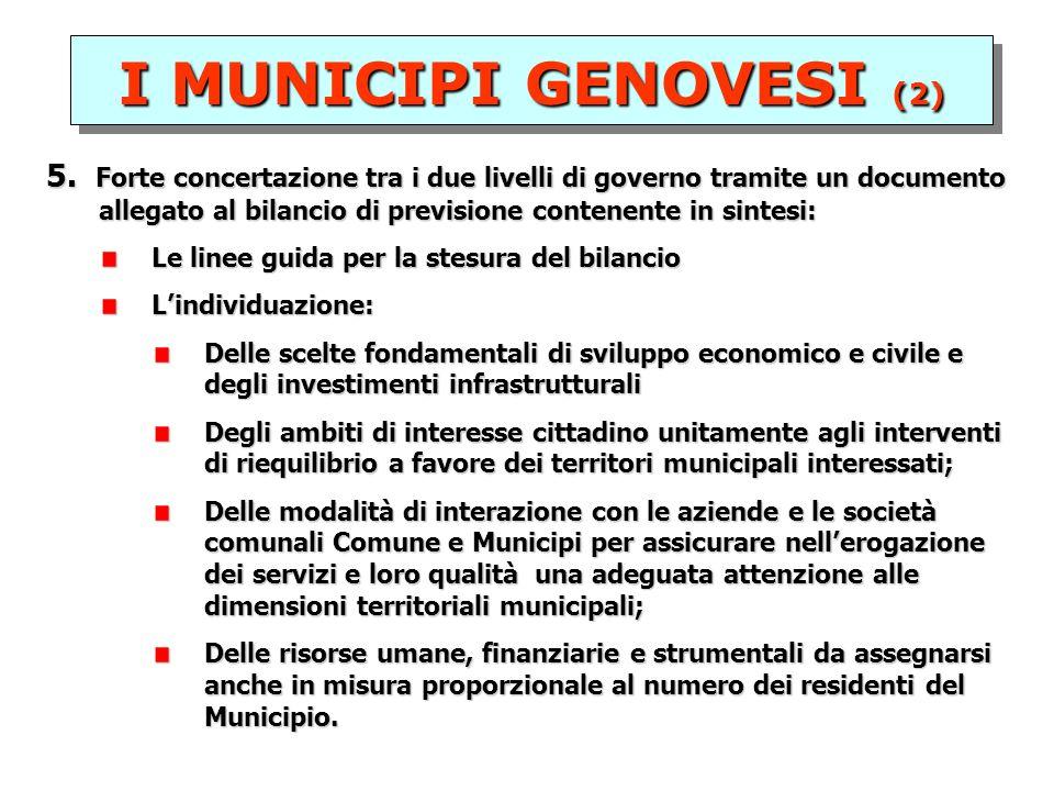I MUNICIPI GENOVESI (2) 5.