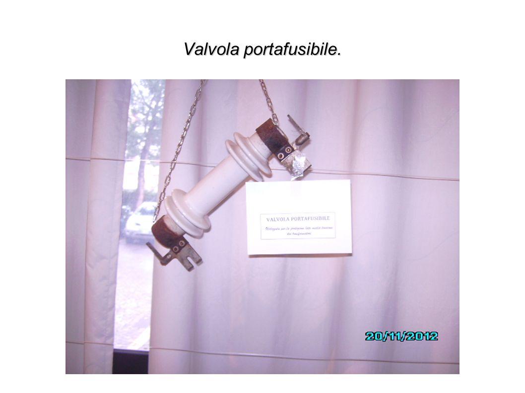 Valvola portafusibile.