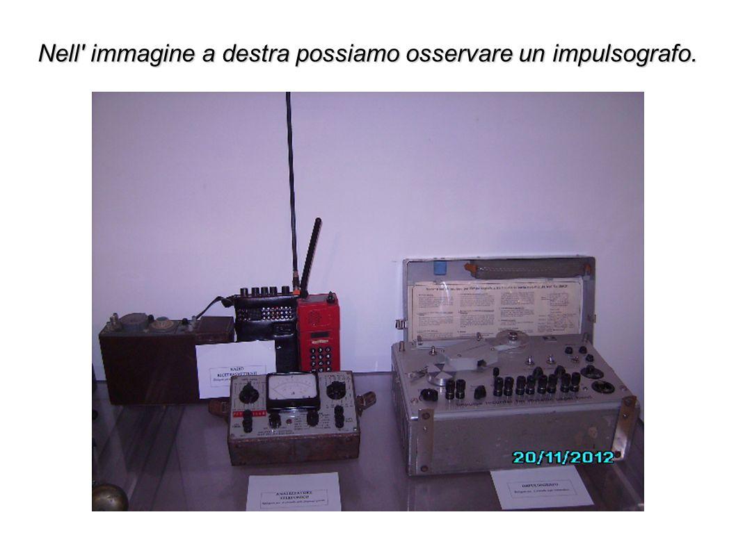 Nell' immagine a destra possiamo osservare un impulsografo.