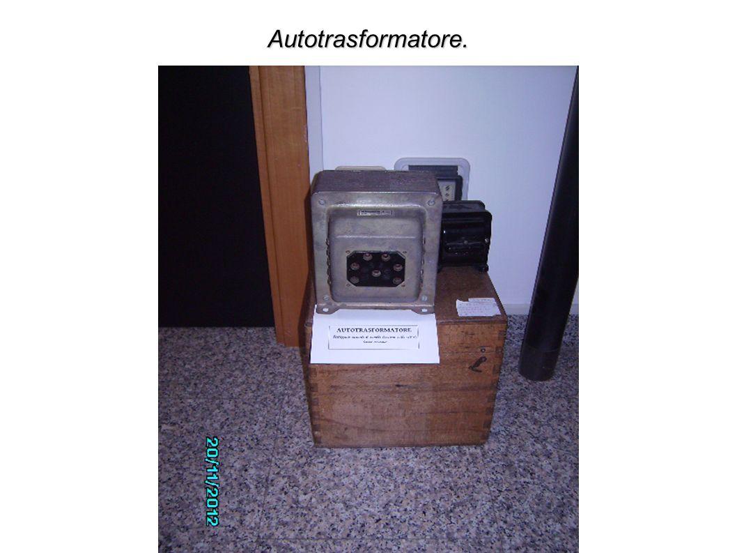 Autotrasformatore.