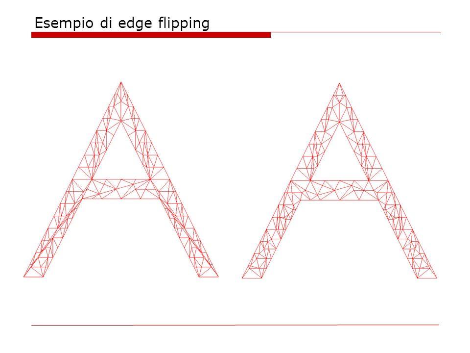 Esempio di edge flipping