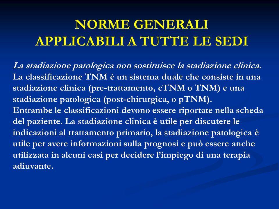 NORME GENERALI APPLICABILI A TUTTE LE SEDI 3.