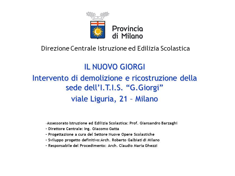 Listituto G.Giorgi di Milano vanta una lunga tradizione nel campo dellistruzione media superiore ad orientamento tecnico industriale.