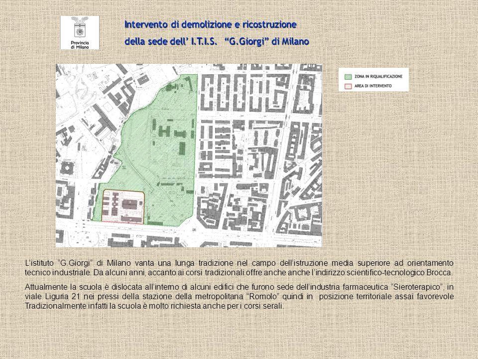 Listituto G.Giorgi di Milano vanta una lunga tradizione nel campo dellistruzione media superiore ad orientamento tecnico industriale. Da alcuni anni,