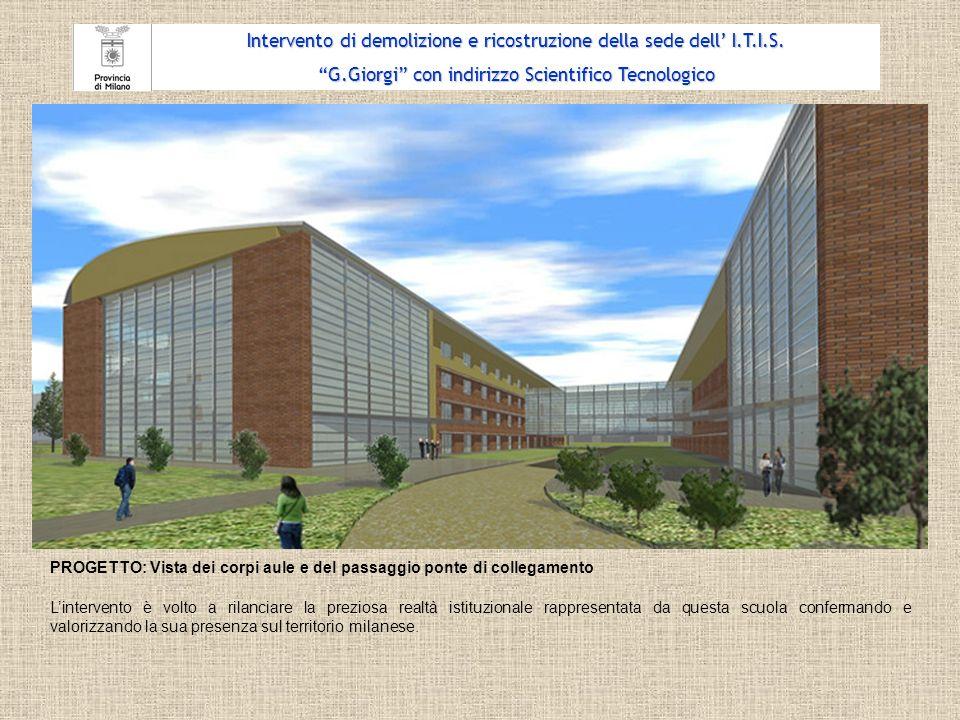 PROGETTO: Planimetria generale Intervento di demolizione e ricostruzione della sede dell I.T.I.S.