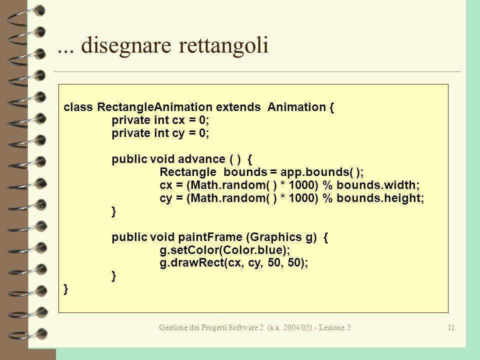 Gestione dei Progetti Software 2 (a.a. 2004/05) - Lezione 511...
