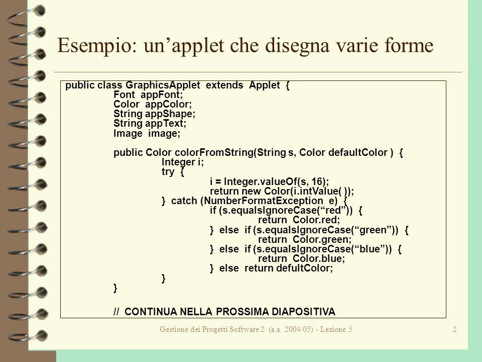 Gestione dei Progetti Software 2 (a.a.2004/05) - Lezione 513...