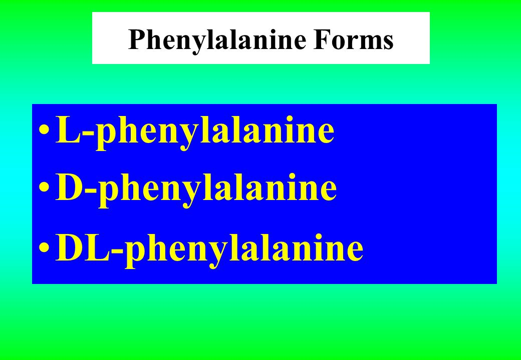 Phenylalanine Phenylalanine is an essential alpha-amino acid.essentialamino acid It exists in two forms, a D and an L form, which are enantiomers (mirror-image molecules) of each other.