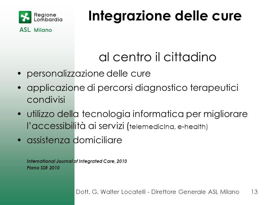 al centro il cittadino personalizzazione delle cure applicazione di percorsi diagnostico terapeutici condivisi utilizzo della tecnologia informatica p