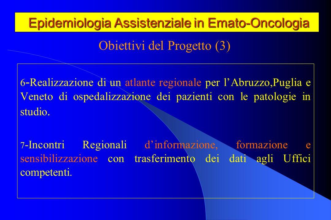 Epidemiologia Assistenziale in Emato-Oncologia Epidemiologia Assistenziale in Emato-Oncologia Indicatori di attività ospedaliera.