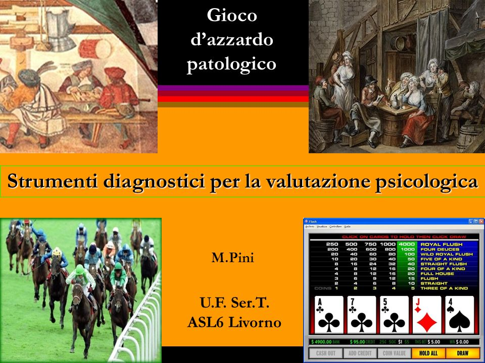 STRUMENTI REPERITI IN LETTERATURA ANGLOSASSONE: QUESTIONARI ONLINE NATIONAL COUNCIL FOR PROBLEM GAMBLING PROBLEM GAMBLING SELF TEST The screen below provides a simple self test to evaluate your gambling behavior.