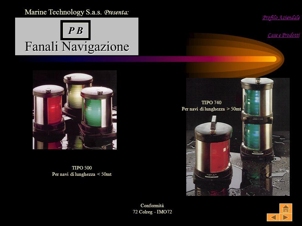Fanali Navigazione Marine Technology S.a.s.