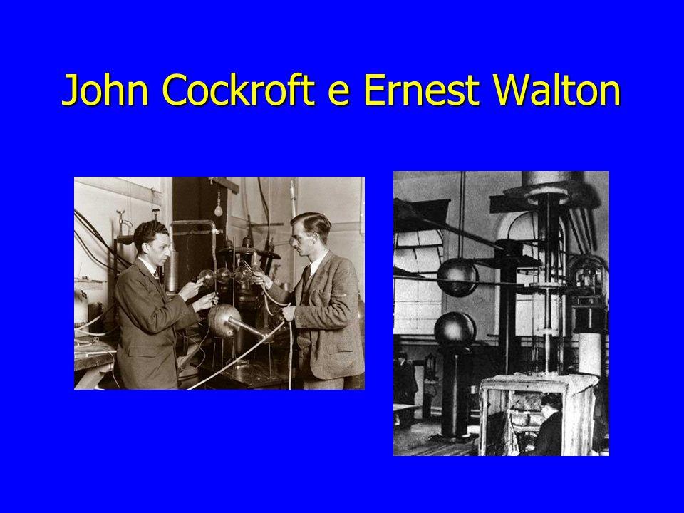 John Cockroft e Ernest Walton