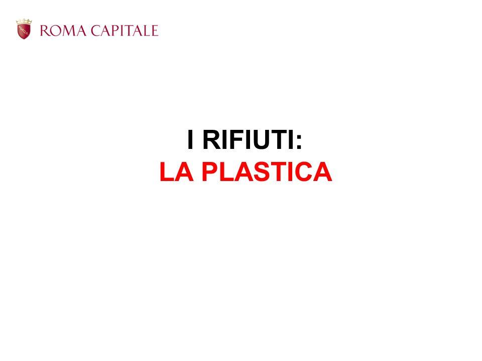 I RIFIUTI: LA PLASTICA