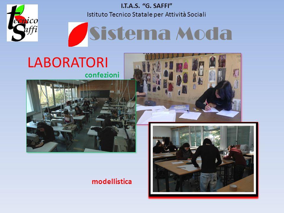 Sistema Moda I.T.A.S. G. SAFFI Istituto Tecnico Statale per Attività Sociali LABORATORI modellistica confezioni