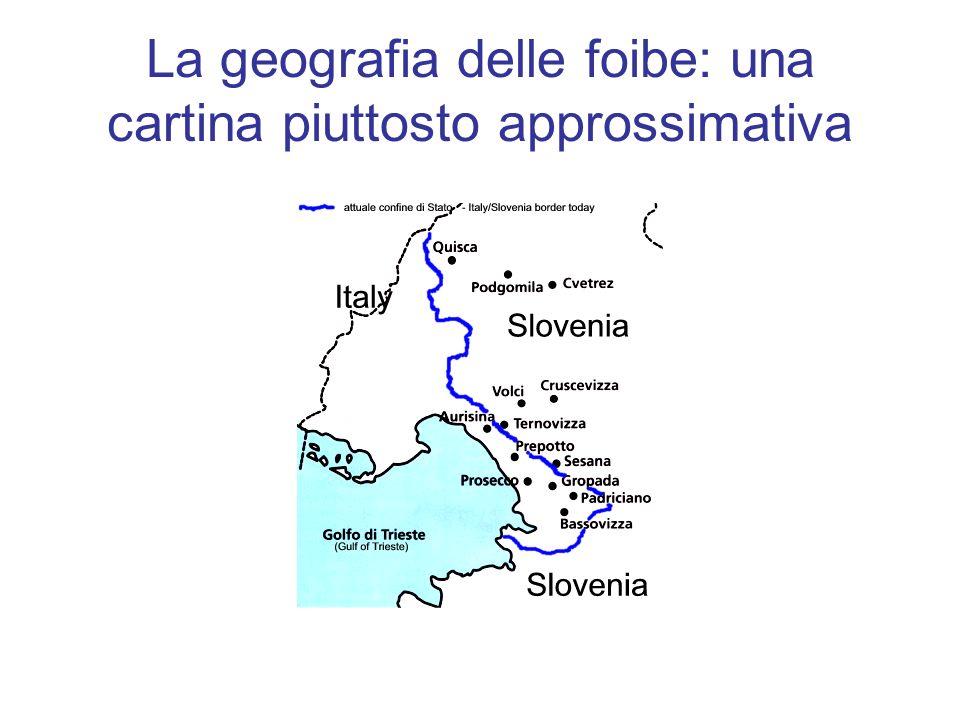 Una cartina più dettagliata