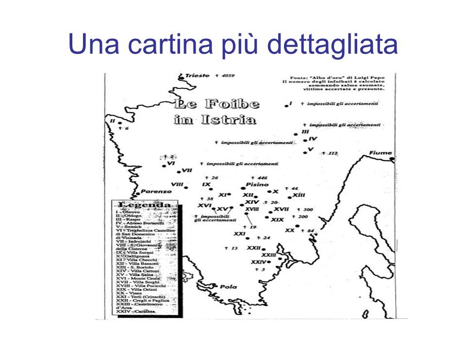 Molti degli infoibati furono persone legate, in qualche modo, con il regime fascista: personaggi politici, miliziani, squadristi….
