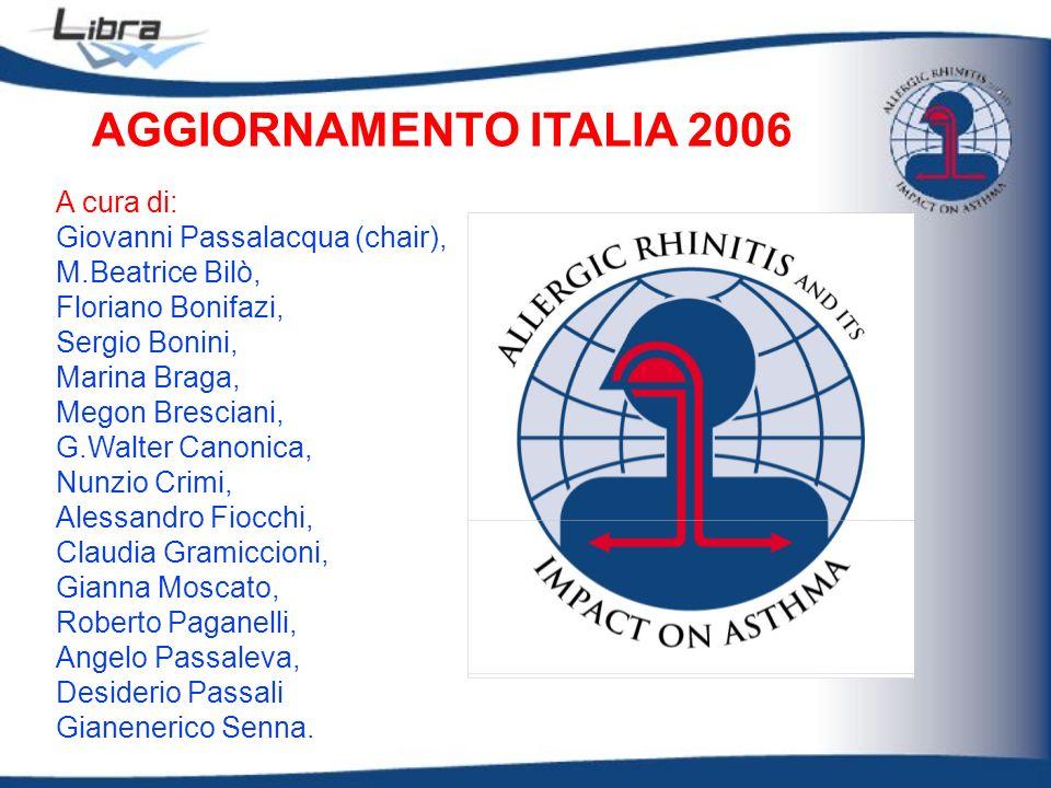 A cura di: Giovanni Passalacqua (chair), M.Beatrice Bilò, Floriano Bonifazi, Sergio Bonini, Marina Braga, Megon Bresciani, G.Walter Canonica, Nunzio C