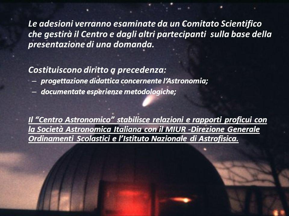 Le adesioni verranno esaminate da un Comitato Scientifico che gestirà il Centro e dagli altri partecipanti sulla base della presentazione di una doman
