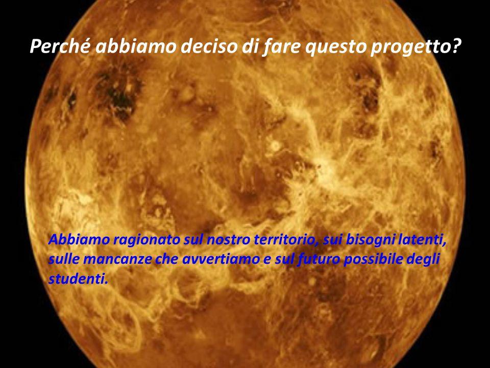 Il Centro Astronomico sarà il nucleo centrale della Palestra.