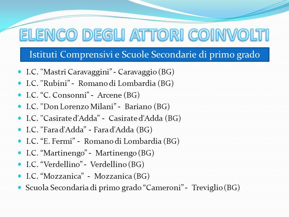 I.C. Mastri Caravaggini - Caravaggio (BG) I.C. Rubini - Romano di Lombardia (BG) I.C.