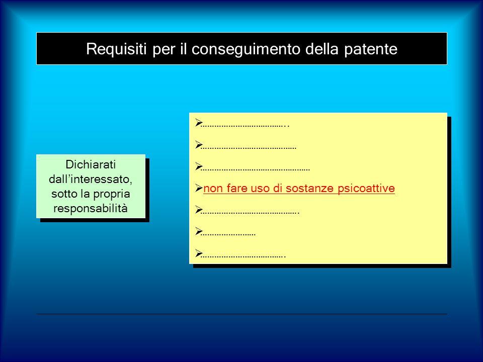 Intossicazione acuta alcoolica 3 g/l Ridotta responsività (stupore) Gravi disturbi delle percezioni sensoriali Ridotta responsività (stupore) Gravi disturbi delle percezioni sensoriali