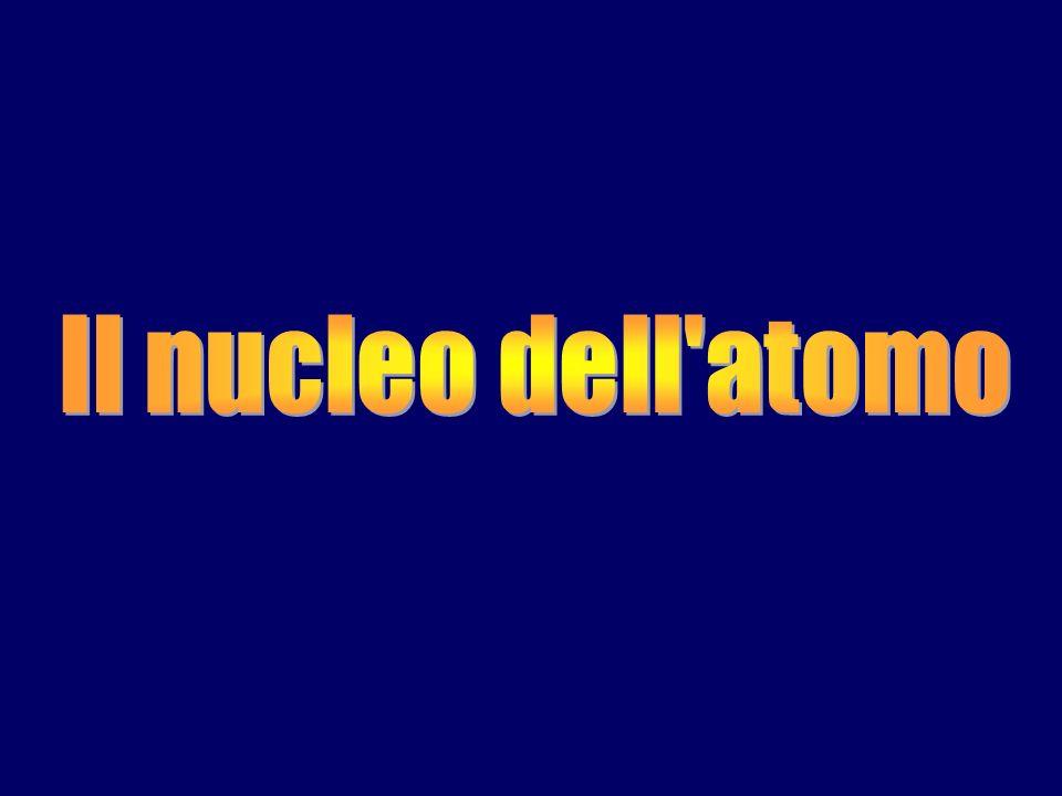 massa di 1 atomo dellelemento (g) massa di elemento pesata (g) N° di atomi contenuti in una certa quantità di un elemento