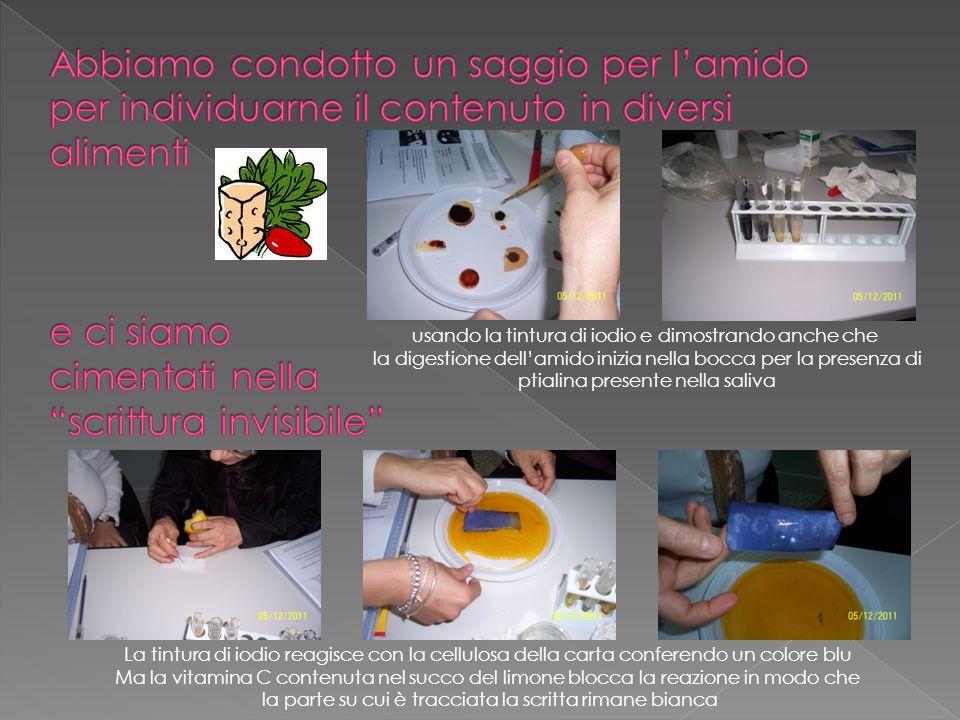 Succo di limone: pH acido Bicarbonato: pH basico Latte: pH neutro Sapone: pH neutro Acqua di rubinetto: pH basico Aceto :pH acido