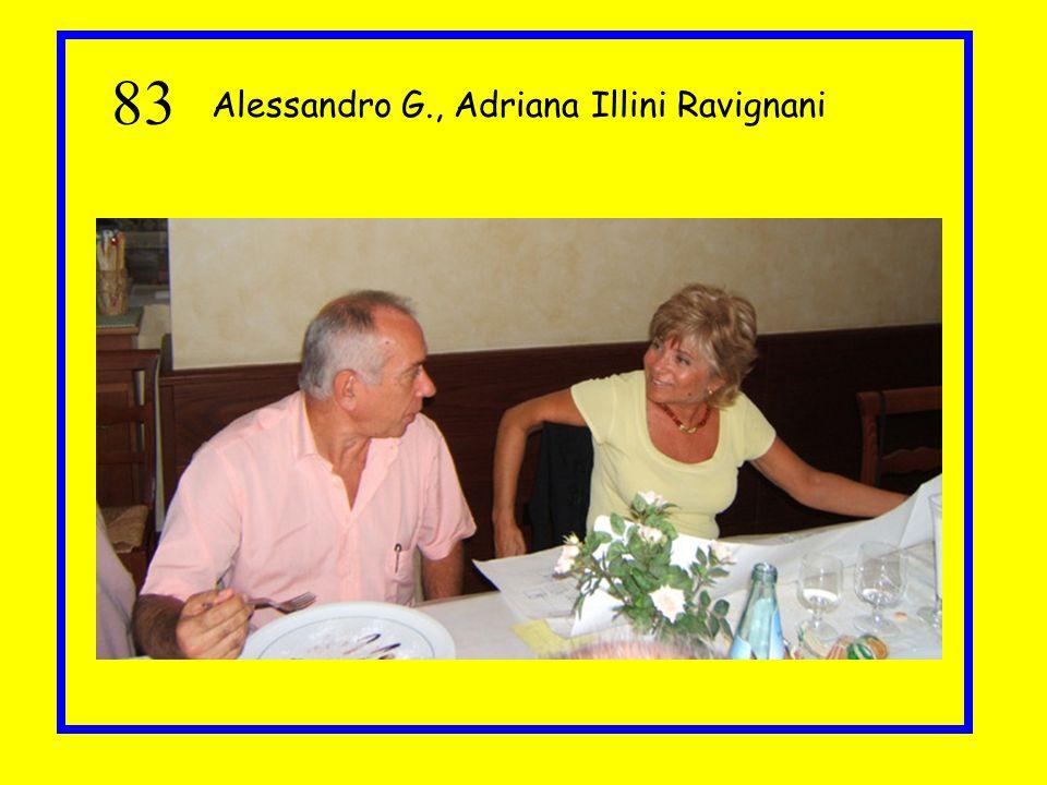83 Alessandro G., Adriana Illini Ravignani