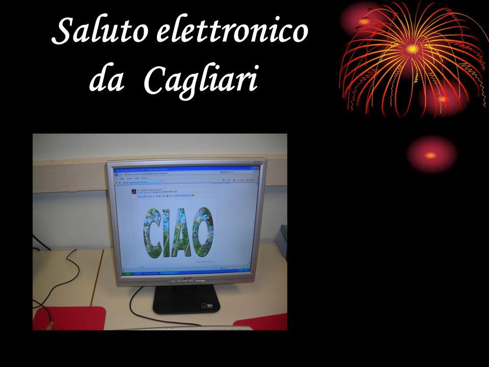 Saluto elettronico da Cagliari