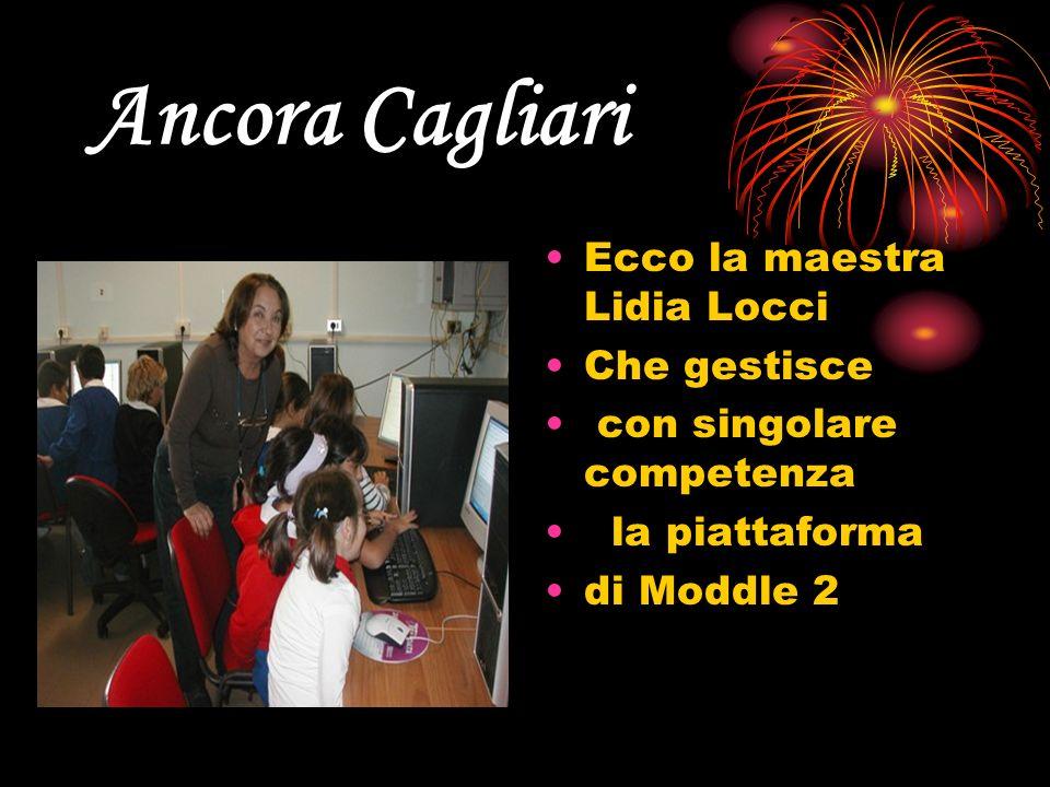 Ancora Cagliari Ecco la maestra Lidia Locci Che gestisce con singolare competenza la piattaforma di Moddle 2