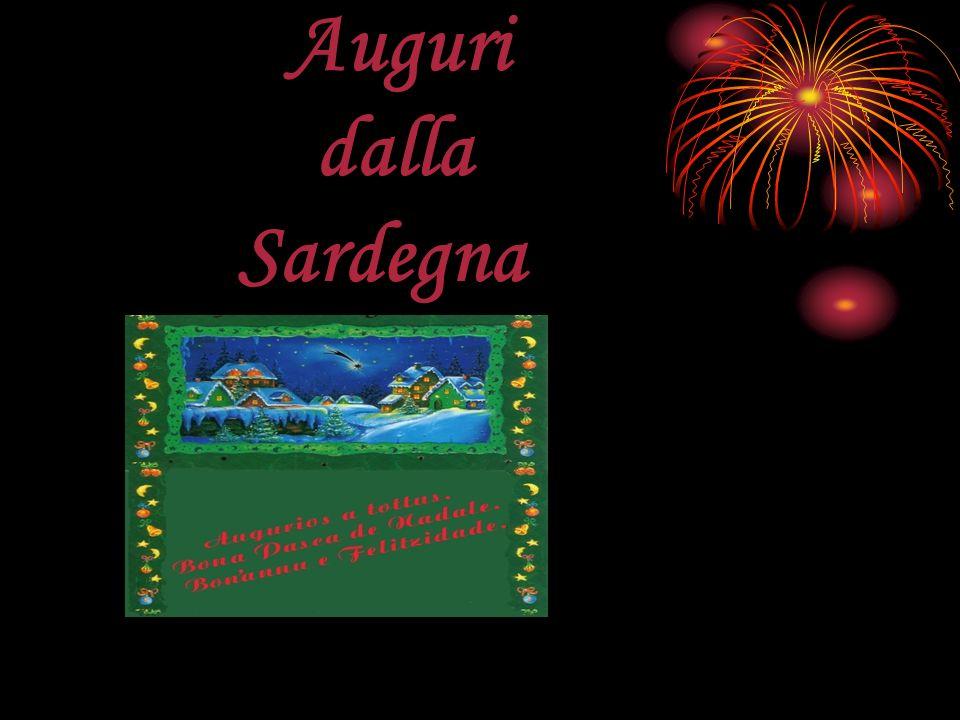 Auguri dalla Sardegna