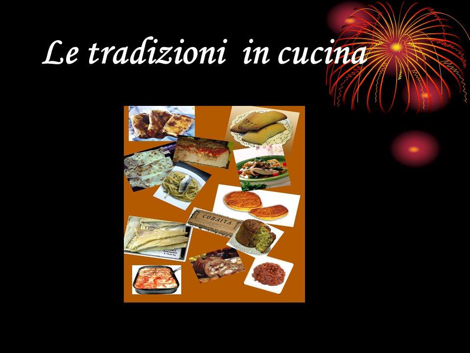 Le tradizioni in cucina