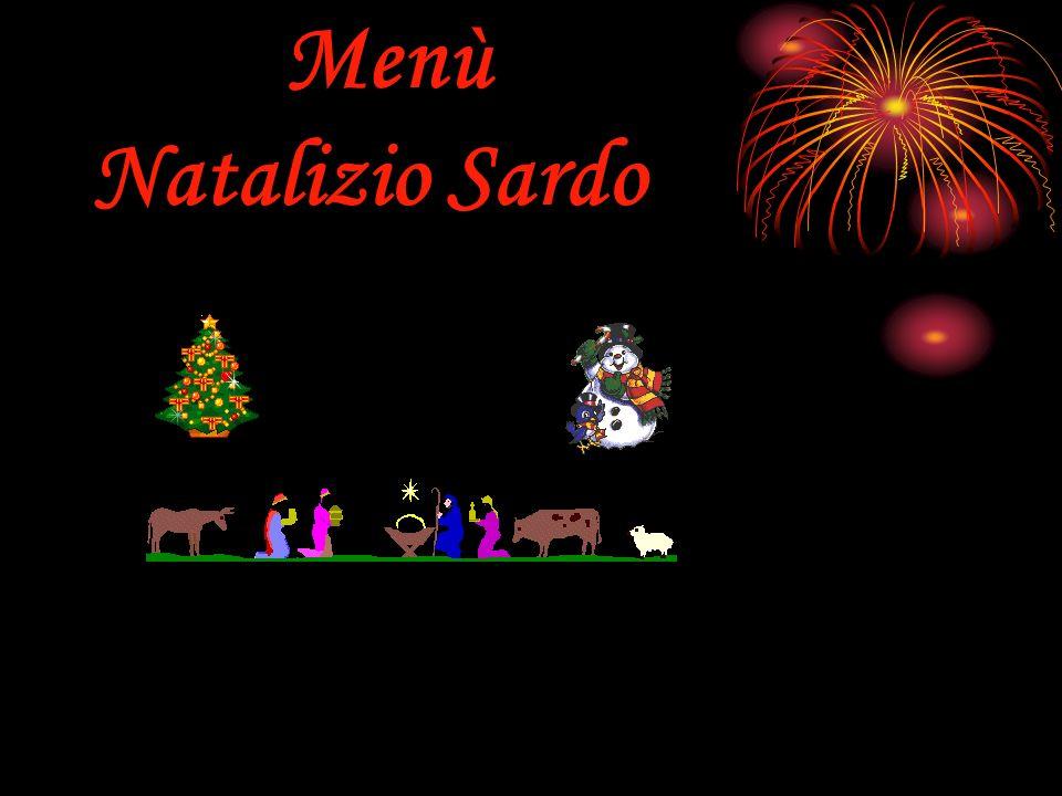 Menù Natalizio Sardo