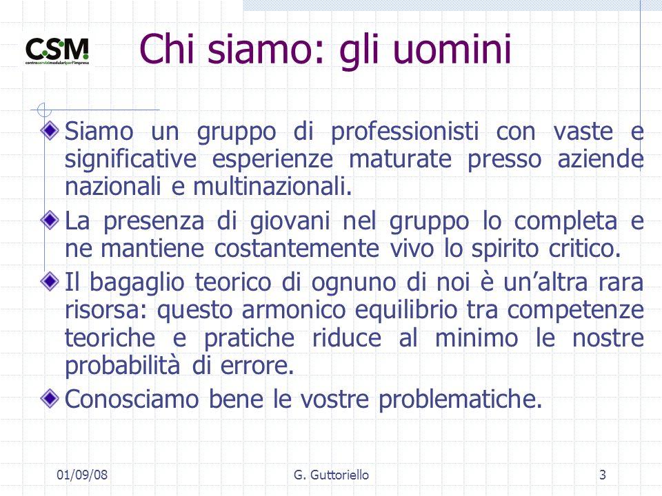 01/09/08G.Guttoriello14 Referenze principali Acroplastica SpA – Caserta.
