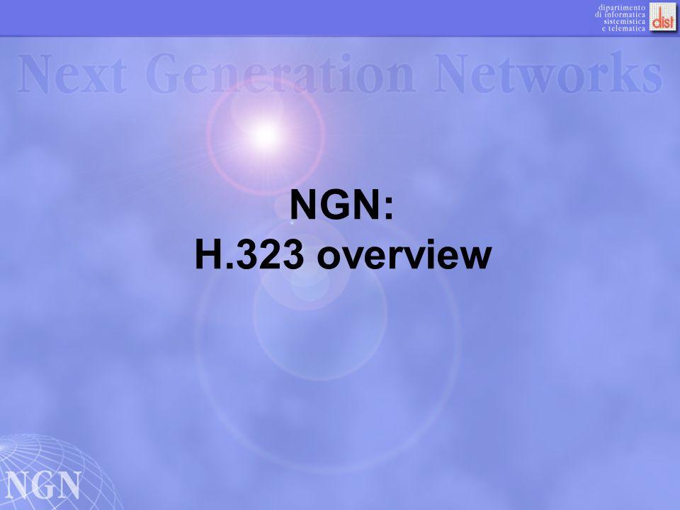 22 Endpoint/GK Discovery Lendpoint determina a quale gatekeeper deve registrarsi inviando un messaggio GRQ (Gatekeeper Request) ad un indirizzo multicast noto.