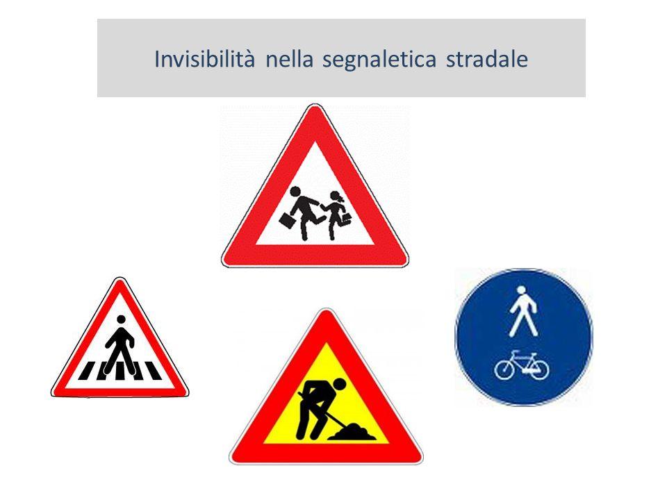 Invisibilità nella segnaletica stradale