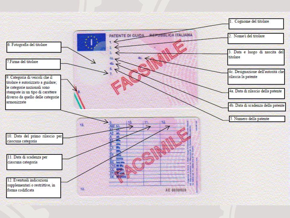 Le nuove patenti: tabella riassuntiva