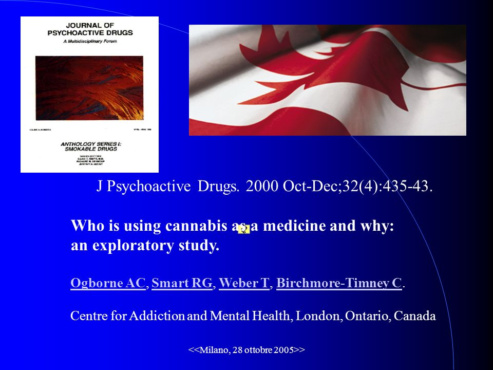> J Psychoactive Drugs. 2000 Oct-Dec;32(4):435-43.