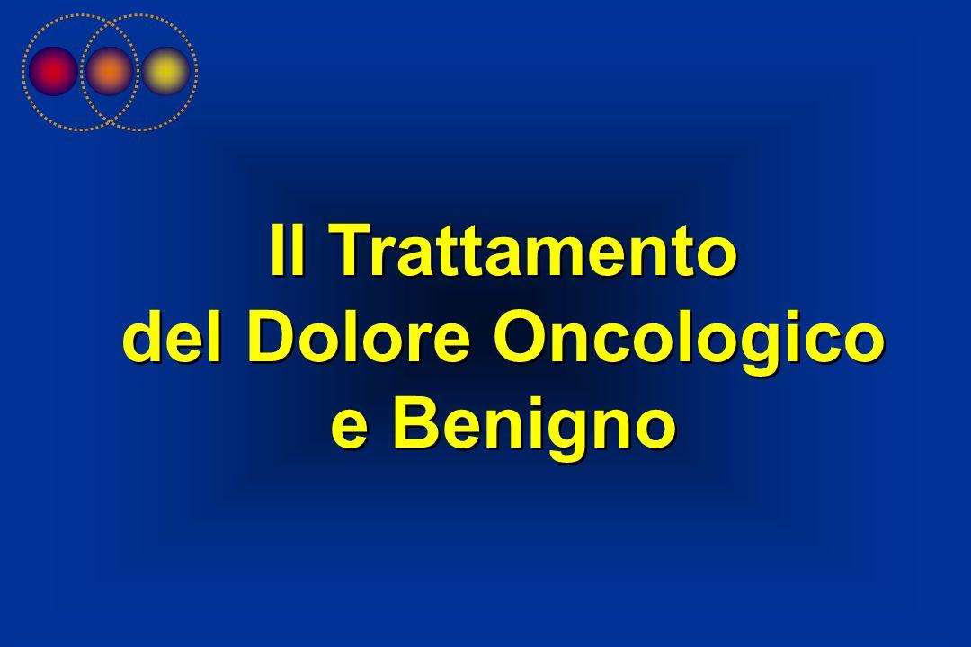 Il Trattamento del Dolore Oncologico e Benigno Il Trattamento del Dolore Oncologico e Benigno