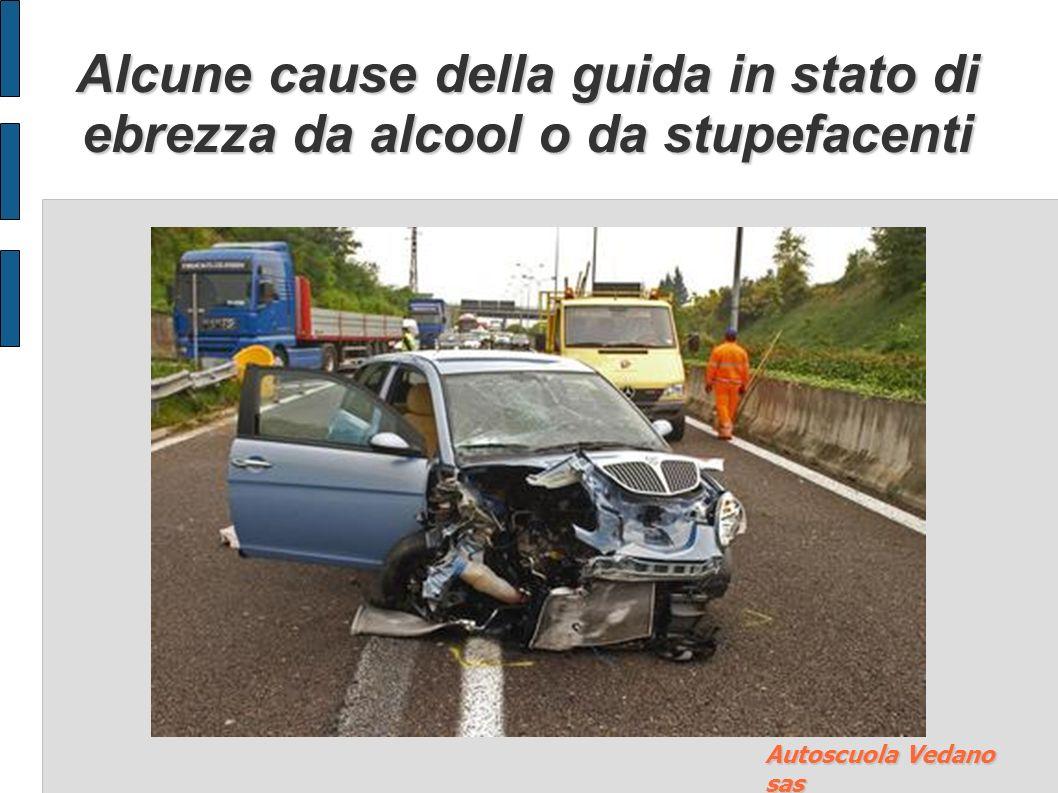 Disposizioni in materia di guida in stato di ebrezza da stupefacenti Chiunque guida in stato di alterazione psico-fisica dopo aver assunto sostanze st