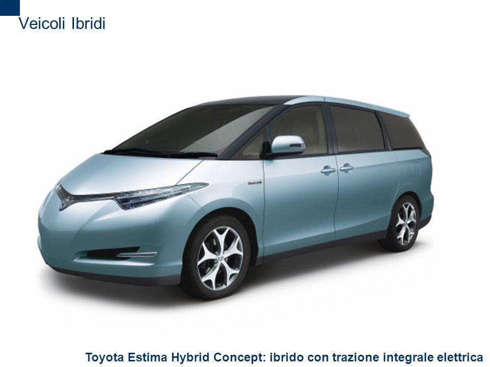 2 Veicoli Ibridi Toyota Estima Hybrid Concept: ibrido con trazione integrale elettrica