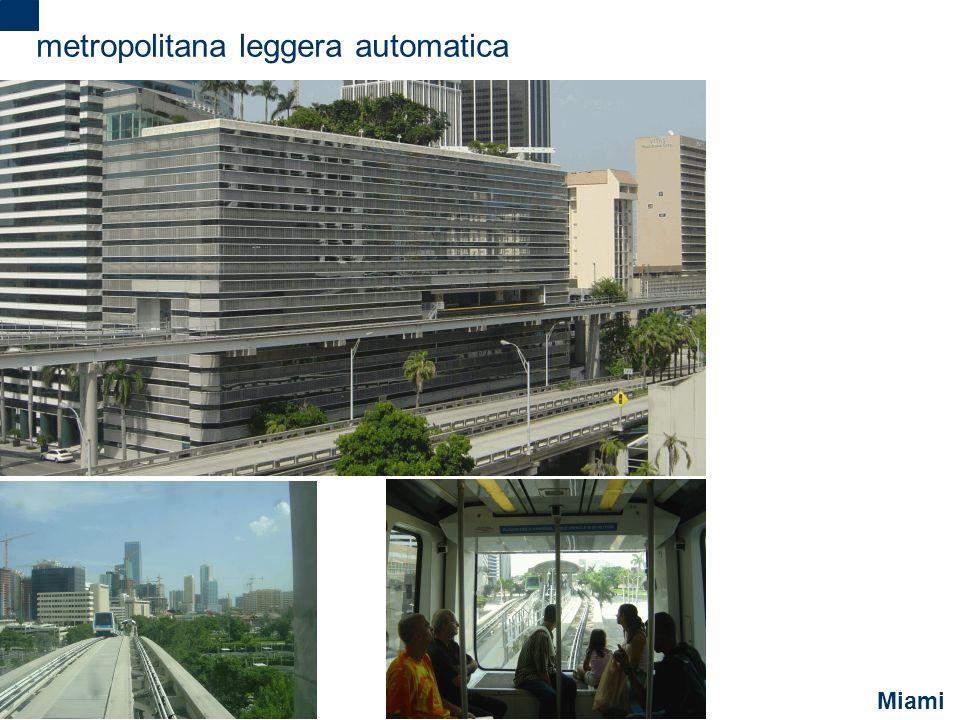 2 metropolitana leggera automatica Miami