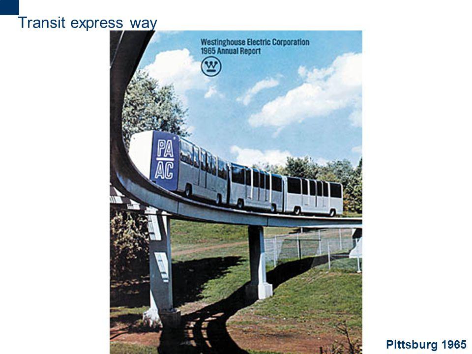 2 Transit express way Pittsburg 1965