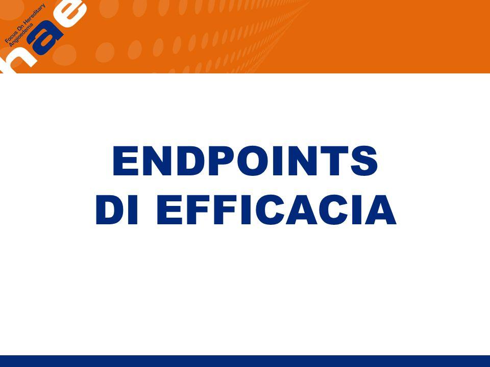 ENDPOINTS DI EFFICACIA