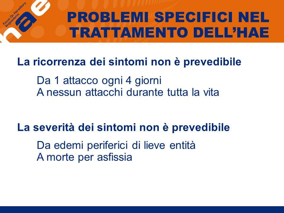 TRATTAMENTO IN APERTO DI UN EDEMA LARINGEO CON ICATIBANT pre-treatment1 h2 h3 h4 h Icatibant injection M.