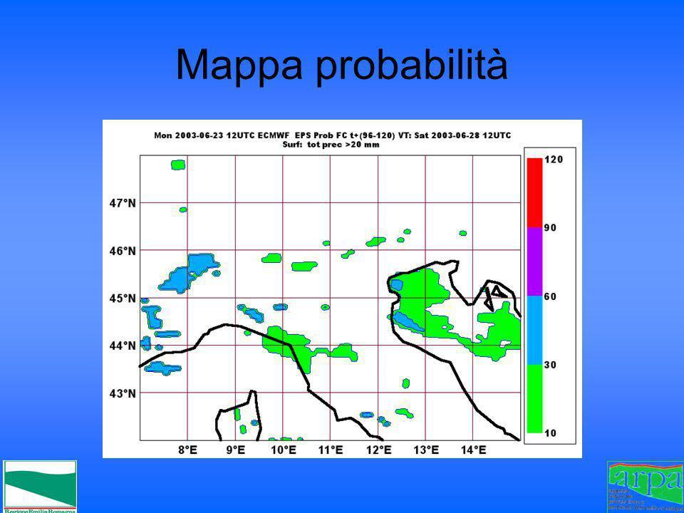 Mappa probabilità