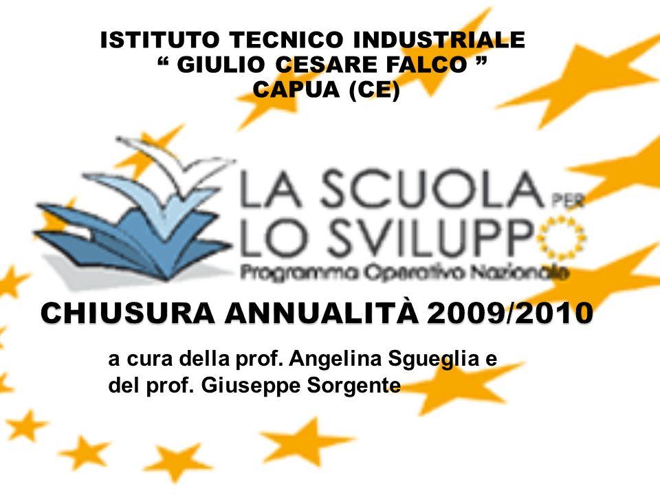 1 ISTITUTO TECNICO INDUSTRIALE GIULIO CESARE FALCO CAPUA (CE) a cura della prof. Angelina Sgueglia e del prof. Giuseppe Sorgente