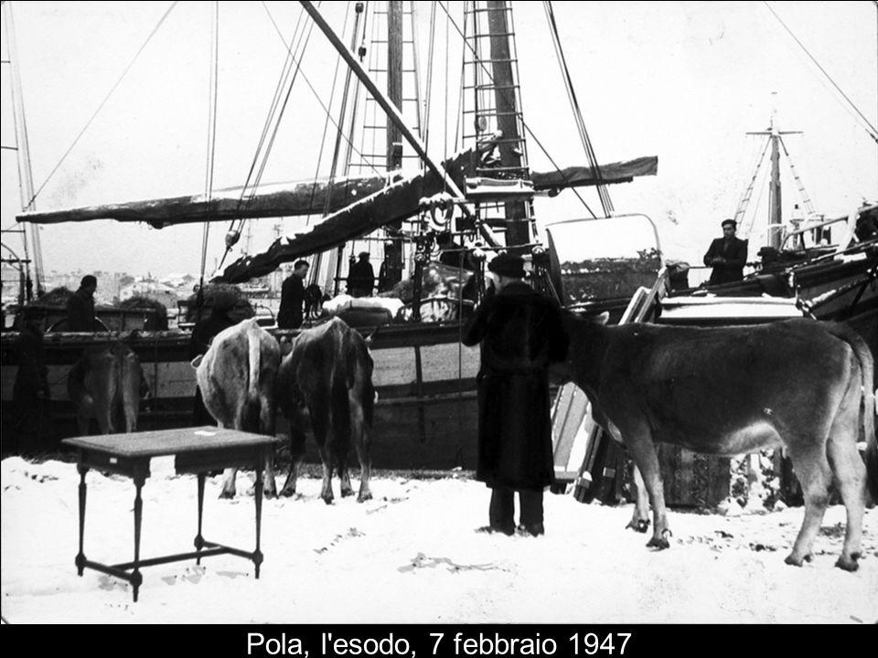 Pola, l'esodo, 7 febbraio 1947
